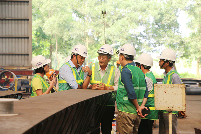 AMECC STARTS THE SECOND TRAINING COURSE FOR THE STEEL STRUCTURE MANUFACTURE WORKSHOP IN MYANMAR